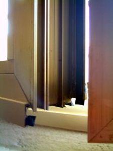 angolare di finestra in alluminio