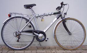 La bicicletta del sottoscritto, acquistata usata