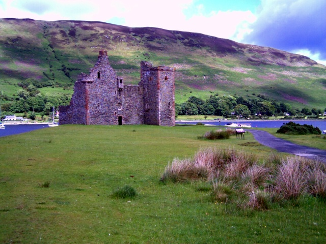 il castello di Lochranza, isola di Arran, Scozia