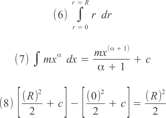 integrale di funzione x dx e di potenza generica