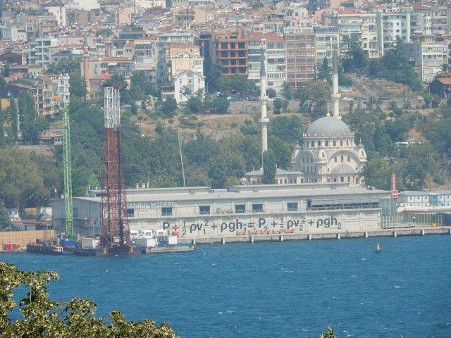 Museo di arte moderna, Istanbul, equazione di Bernoulli
